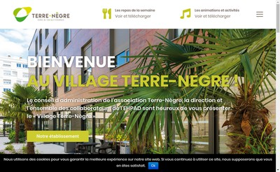 Site internet de Maison de Retraite Terre Negre