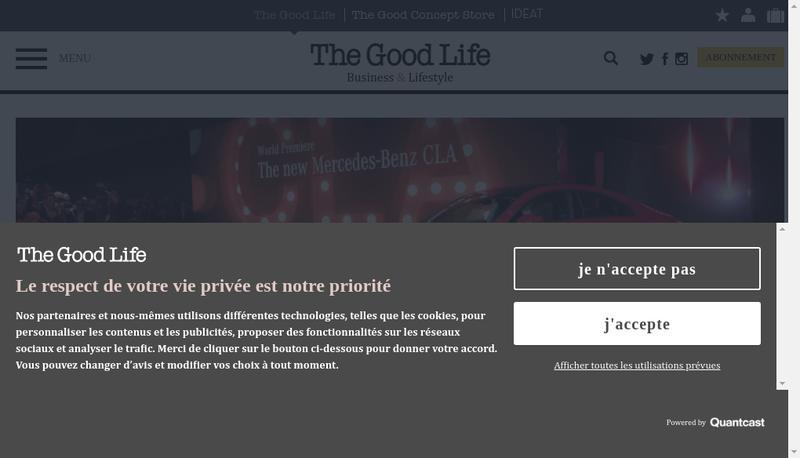 Capture d'écran du site de Ideat