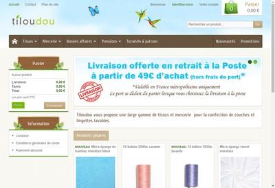 Site internet de Tiloudou