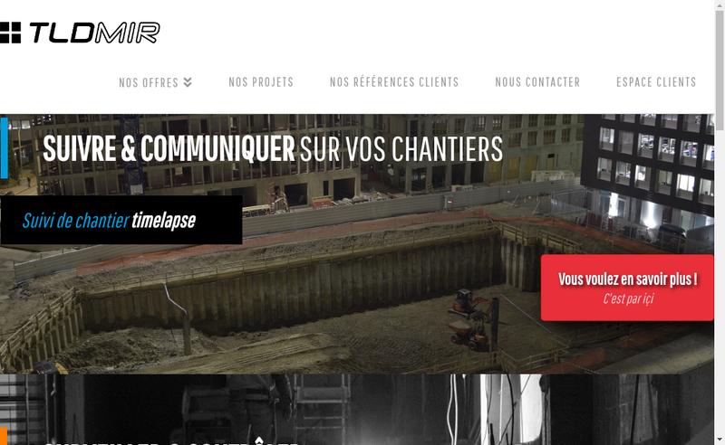 Capture d'écran du site de Tldmir
