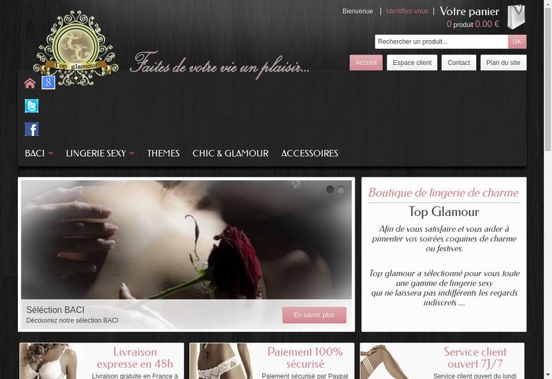 Capture d'écran du site de Jonathan Tomazio Valet