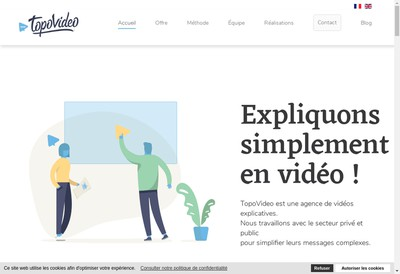 Site internet de Topovideo