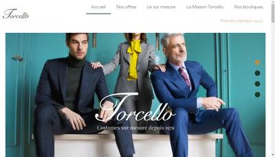 Site internet de Torcello Developpement