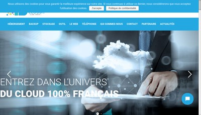 Site internet de Totalcloud