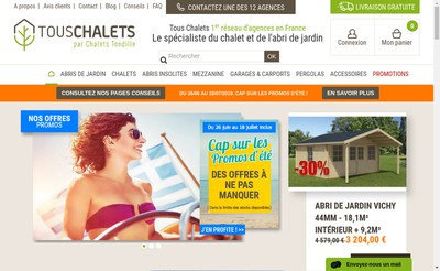 Site internet de Au Noyer Massif