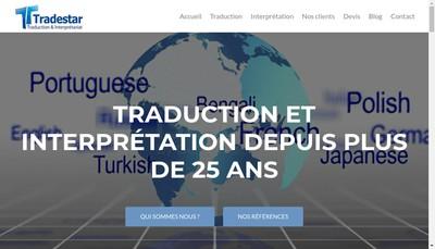 Site internet de Tradestar