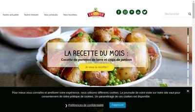 Site internet de Borges - Tramier
