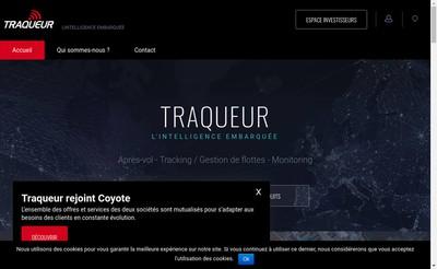Site internet de Traqueur