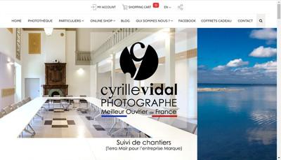 Site internet de Studio Cyrille Vidal