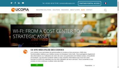 Site internet de Ucopia