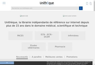 Site internet de La Boite a Livres de l'Etranger