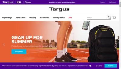 Site internet de Targus SARL