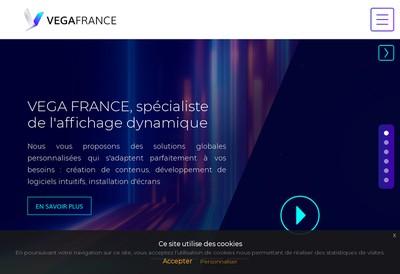 Site internet de Vega France