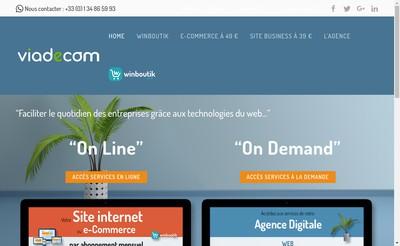Site internet de Viadecom