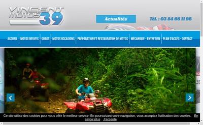 Site internet de Vincent Motos 39