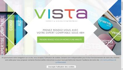 Site internet de Vista Conseil