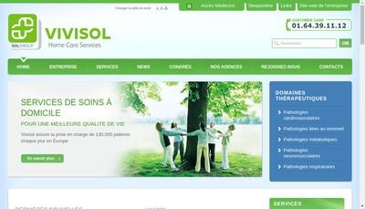Site internet de Vivisol France