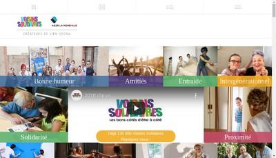 Site internet de Voisins Solidaires