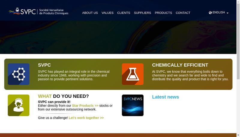 Capture d'écran du site de Svpc Soprocia Eurocollection
