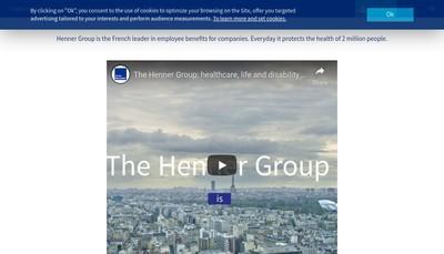 Site internet de Henner