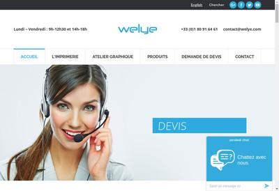 Site internet de Welye
