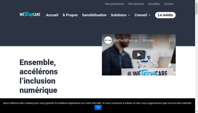 Site internet de Wetechcare
