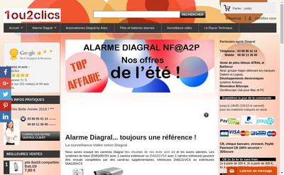 Site internet de 1 Ou 2 Clics