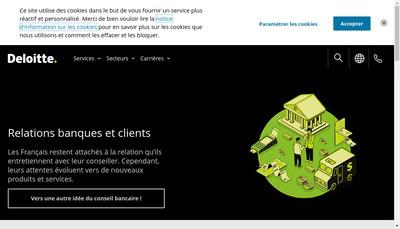 Site internet de Deloitte