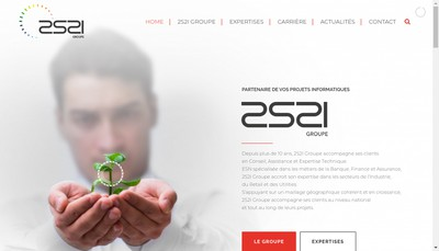 Site internet de 2S2I Solutions & Services Sud Est
