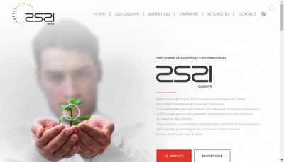 Site internet de 2S2I Solutions & Services Holding