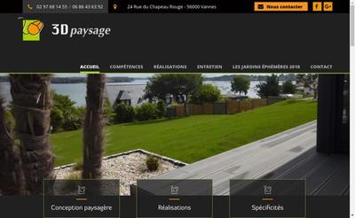 Site internet de 3 D Paysage