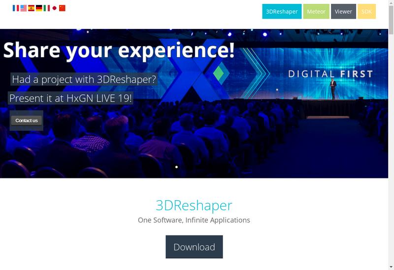 Capture d'écran du site de Technodigit