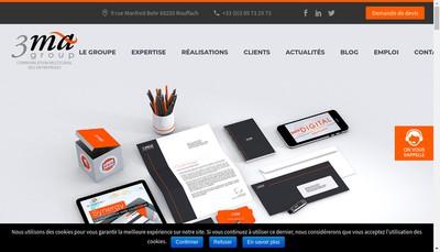 Site internet de L'Europeenne d'Envois