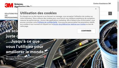Site internet de 3M France
