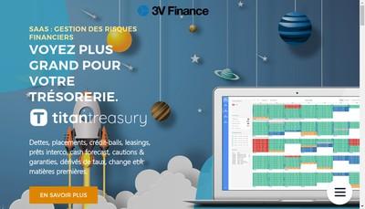 Site internet de 3 V Finance