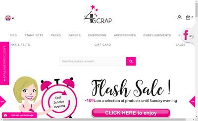 Site internet de 4Enscrap