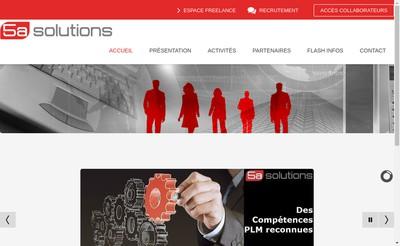 Site internet de 5A Solutions