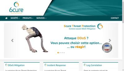 Site internet de 6Cure