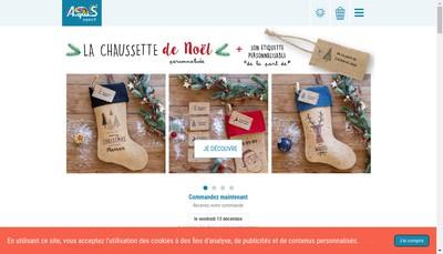 Site internet de A-qui-S