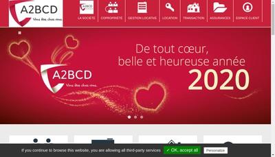Site internet de A2Bcd