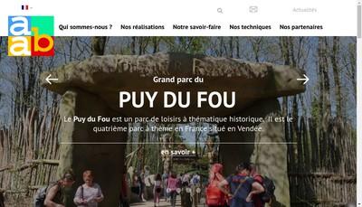 Site internet de Atelier Artistique du Beton
