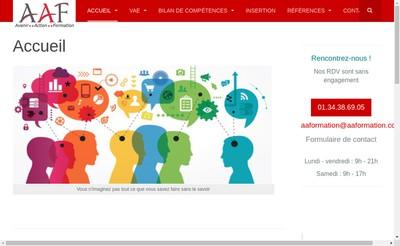 Site internet de AAF