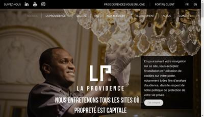 Site internet de Aaf la Providence Ii