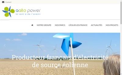 Site internet de Aalto Power