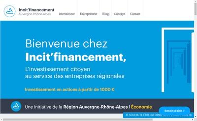 Site internet de AB Funding