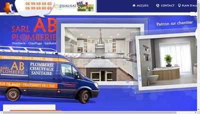 Site internet de Ab Plomberie