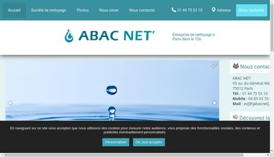 Site internet de Abac Net