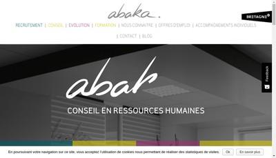 Site internet de Abaka