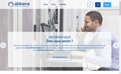 Site internet de Abbana