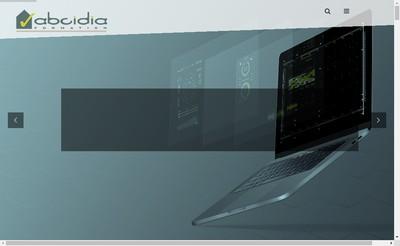 Site internet de Abcidia Formation